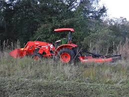 bush hogging live oak
